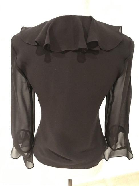 Ralph Lauren Tops Silk Silk Tops Size Small Top Black Image 7