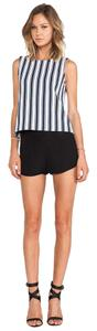 Theory Silk Mini/Short Shorts Black
