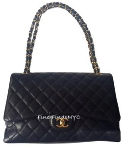 Chanel Caviar Classic Flap Maxi Shoulder Bag