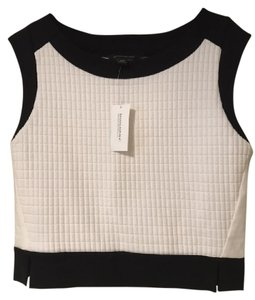 Banana Republic Top Black and white