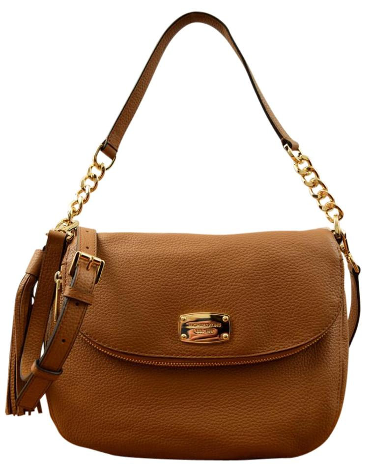 db556a6dc07e Michael Kors Bedford Medium Tassel Conv. New Acorn Leather Shoulder ...