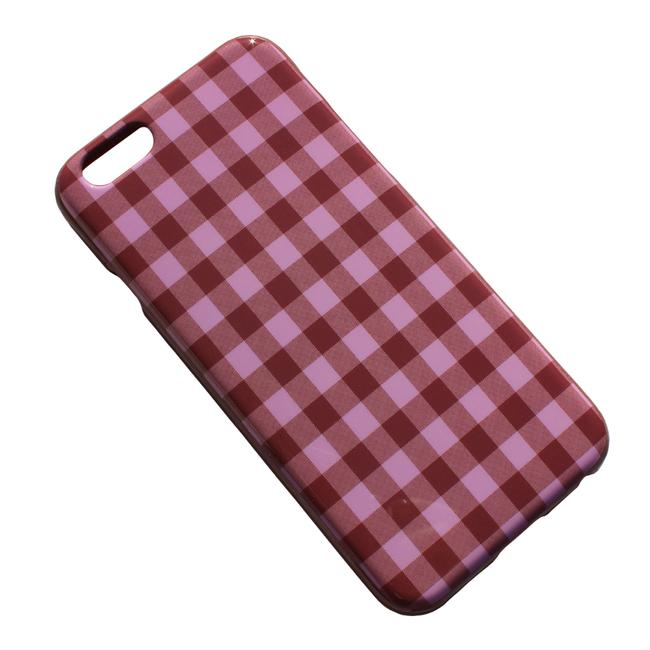 J.Crew Pink Brown Printed Case For Iphone(R) 6/6s Tech Accessory Image 1