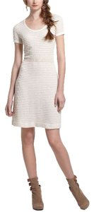 Anthropologie short dress White & Gold Anthrologie Sparrow on Tradesy