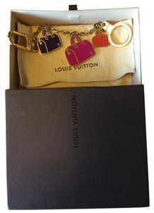 Louis Vuitton Authentic Iconic Speedy Bag Charm Chain