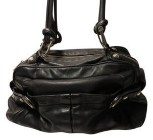 B. Makowsky #leather # # Satchel in Black