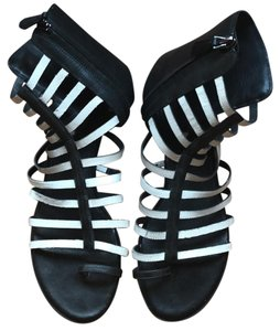 Kenneth Cole Black + White Sandals