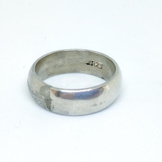 DeWitt's Sterling Silver Band 6.1 grams Size 7 1/4 Image 3