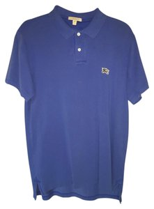 Burberry Polo Men's Polo Polo T Shirt Blue
