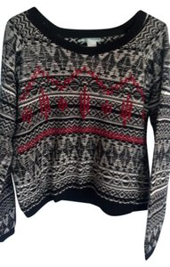 Maurices Woven Design Sweater