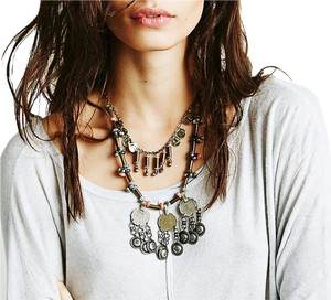 Free People Free People Shield Layered Necklace