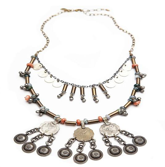 Free People Free People Shield Layered Necklace Image 1