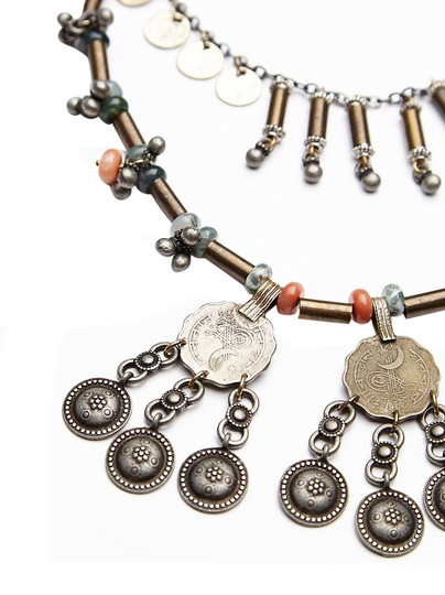 Free People Free People Shield Layered Necklace Image 3