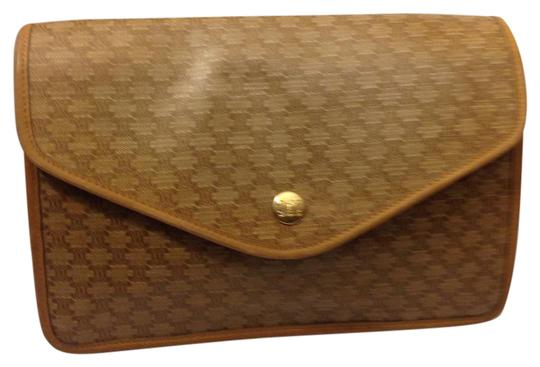 Céline Brown Clutch Image 0