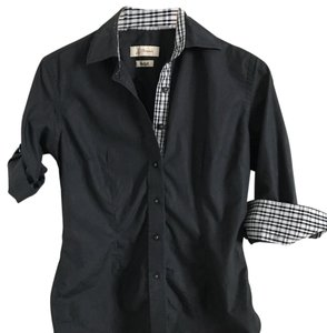 J.J. Threads Button Down Shirt black