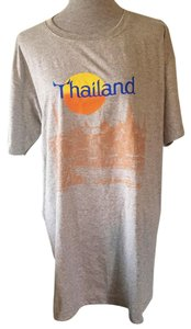 Other T Shirt Grey, Gray, Orange, Yellow, Blue