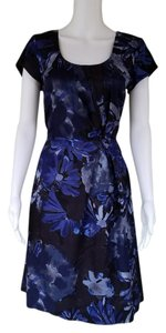 Banana Republic Floral Retro Silky Dress