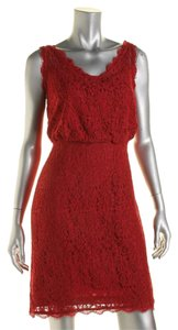 Adrianna Papell Lace Wedding Guest Bridesmaid Dress