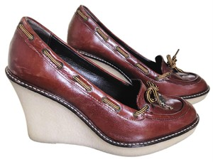 Juicy Couture Brown Wedges