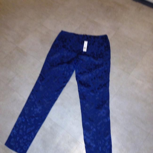 Theory Straight Pants Blue Image 2
