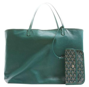 Goyard Anjou Tote in Green