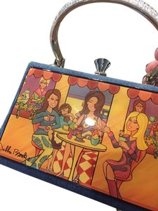 Debbie Brooks Wristlet in Denim