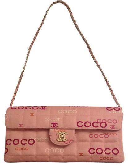 Preload https://item5.tradesy.com/images/chanel-quilted-multicolor-logo-in-peachy-under-000-pink-canvas-shoulder-bag-2050364-0-4.jpg?width=440&height=440