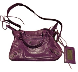 Balenciaga Satchel in Purple