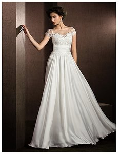 Jewel Satin Wedding Dress Wedding Dress