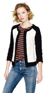 J.Crew Boucle Colorblock Cardigan