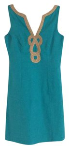 Lilly Pulitzer short dress turquoise on Tradesy