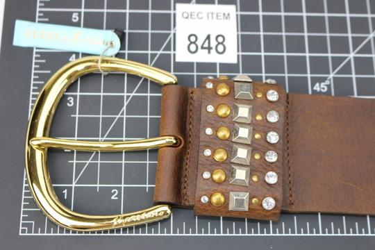 Guess By Marciano New-With-$89Tag Size Small Guess Marciano Studded Brown Belt Funky Image 1