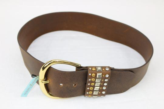 Guess By Marciano New-With-$89Tag Size Small Guess Marciano Studded Brown Belt Funky Image 2
