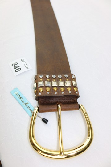Guess By Marciano New-With-$89Tag Size Small Guess Marciano Studded Brown Belt Funky Image 4