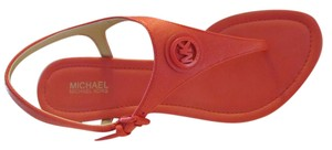 MICHAEL Michael Kors Women Leather Mk CORAL REEF Sandals