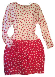 Saks Fifth Avenue Vintage 80's Party Polka Dot Dress