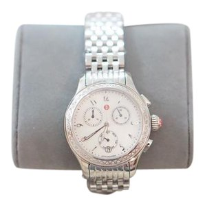 Michele BRAND NEW! Michele diamond encrusted Jetway watch