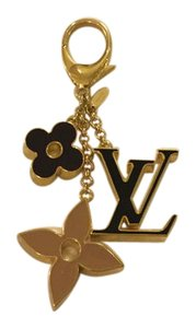 Louis Vuitton Gold Fleur de Monogram Bag Charm