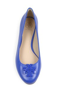 Tory Burch Blue Macaw Flats
