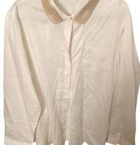 The Limited Button Down Shirt off white