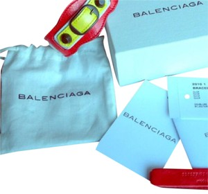Balenciaga balenciaga leather bracelet