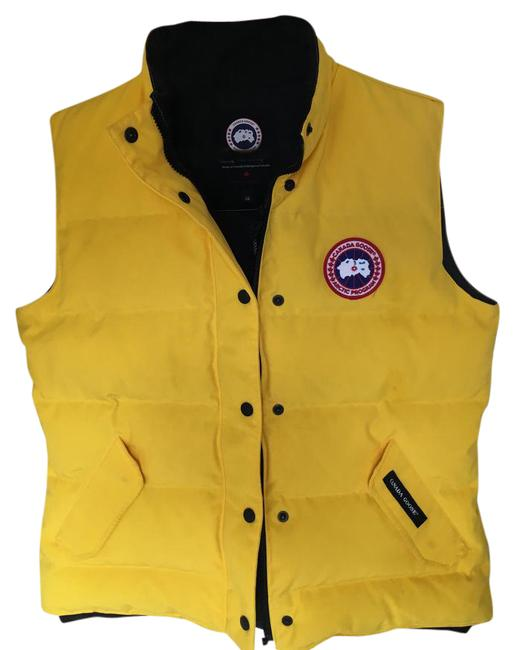 Item - Yellow Arcticwear Down Freestyle Jacket Large Vest Size 12 (L)