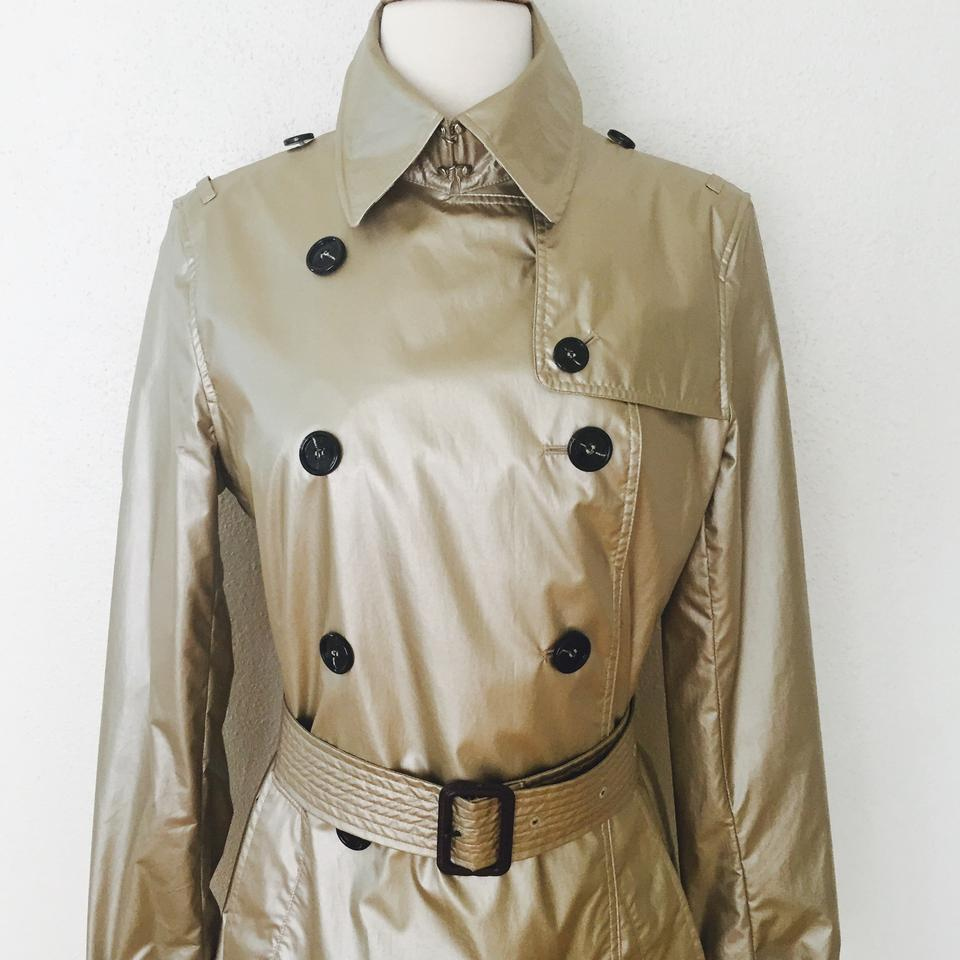 burberry metallic nylon trench trench coat 45 off retail. Black Bedroom Furniture Sets. Home Design Ideas
