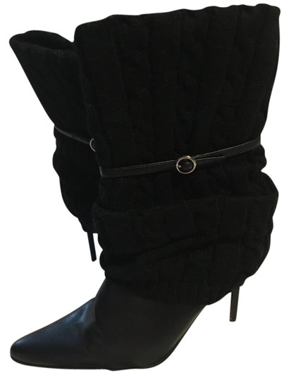 Preload https://img-static.tradesy.com/item/20504190/dollhouse-black-sweetness-cable-knit-covered-with-strap-stiletto-bootsbooties-size-us-9-regular-m-b-0-2-540-540.jpg