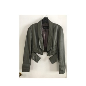 BCBGMAXAZRIA Lead Leather Jacket