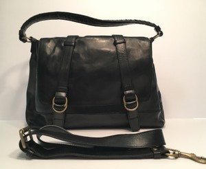 Cole Haan Leather Tablet Ipad Cross Body Bag