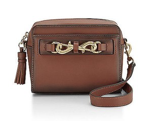Rebecca Minkoff Baked Clay Burnished Leather Florence Camera Cross Body Bag