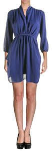 Bar III short dress Blue on Tradesy