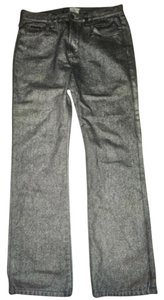 Calvin Klein Straight Leg Jeans-Coated