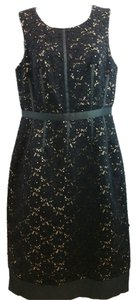 Oleg Cassini Black Lace Dress