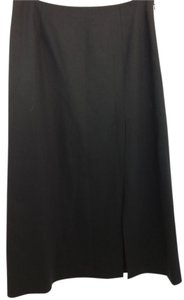 Ann Taylor Black Wool Skirt